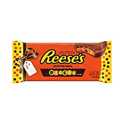 REESE'S Christmas Candy, Holiday Stuffed with Pieces Peanut Butter Cups 1 lb.