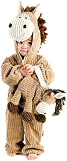 Princess Paradise Deluxe Corduroy Horse Infant/Toddler Costume, Brown, 6 to 12 Months