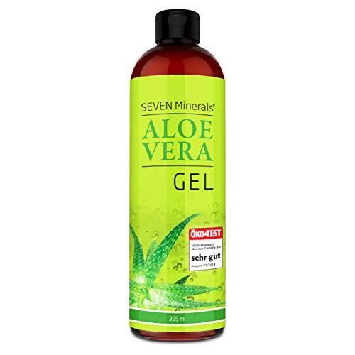 Aloe Vera Gel 99% Bio, 355 ml – ÖKO-TEST Sehr Gut – 100% Natürlich, Rein & Ohne Duftstoffe (Alkoholfrei, Kein Parfüm/WC-Duft) – Einzigartige Vegane Formel OHNE XANTHAN – aus ECHTEM SAFT, NICHT PULVER
