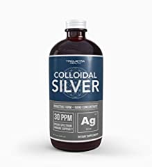 BIOACTIVE SILVER FOR POTENT IMMUNE SUPPORT*: Our colloidal silver is 99.99% pure silver ions in Bioactive form. This means 99% of the Silver particles and nano-clusters maintain their active ionic-charge – which is the only truly effective form of co...