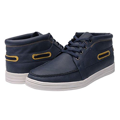 GLOBALWIN Mens M1627 Fashion Sneakers (11 M US Men's, 26BLUE)