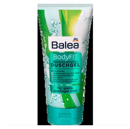 Balea - Bodyfit - Erfrischendes Duschgel - für glatte Haut - mit Aktivformel (1x200 ml)