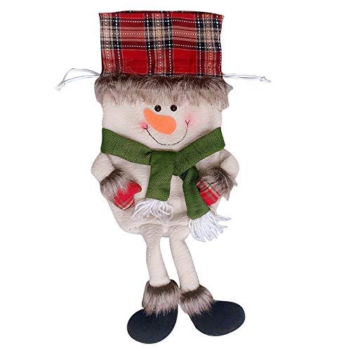 LoveLeiter Weihnachten Mädchen Junge Kreatives Geschenk Dekorations-kreative Hauptpartei-Weihnachtsbeutel-Andenken-Süßigkeits-Geschenk-Tasche Kordelzug (B)