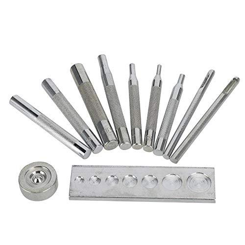 WINOMO 150 piezas KAM T5 broches botones de la resina snaps Rosa