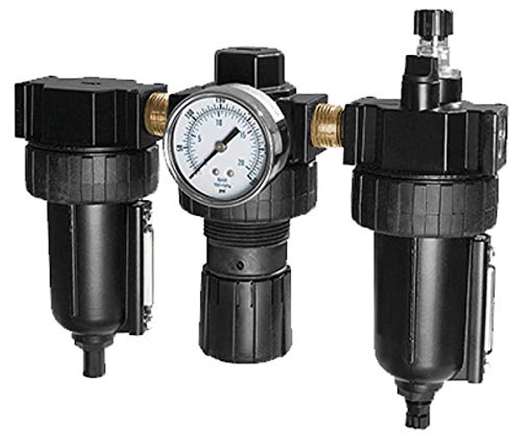 SAMSON 985 Filter, Regulator, Lubricator, 3 Piece Combo, 1/2