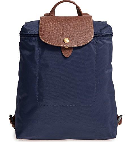 Longchamp 'Le Pliage' Nylon Backpack, Navy