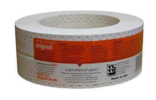 STRAIT-FLEX ORIGINAL Kantenschutz Eckschiene Trockenbau Gipskarton 30m Made in USA