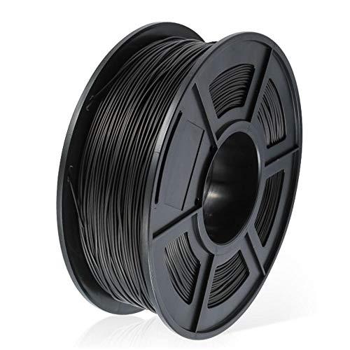 Filamento conduttivo ABS 1,75 mm, filamento stampante 3D 1KG (2.2LB), precisione dimensionale +/- 0,02 mm, nero