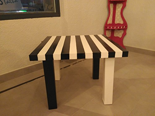 Mesa rallas madera.