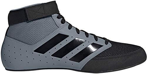 adidas Zapatilla de lucha para hombre Mat Hog 2.0, negro (Negro/Dorado mate/Blanco), 41 EU