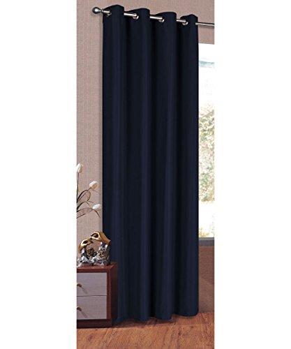 Vorhang Blickdicht Schal, Matte unifarbene Gardine mit Ösen. Material aus Microsatin Micofaser-Gewebe. 225x145,...