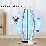 wxcck disinfezione a raggi ultravioletti lampada per uso domestico, portatile antibatterico tasso 100% led sanitizer disinfettare la luce per la casa, senza fili operazione di controllo