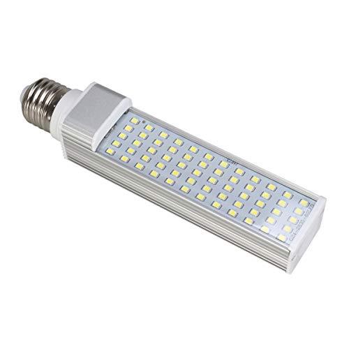 VILLCASE 11W E27 LED ahorro de energía respetuoso del medio ambiente lámpara Fit All Fish Pod y Fish Box Acuarios (blanco)