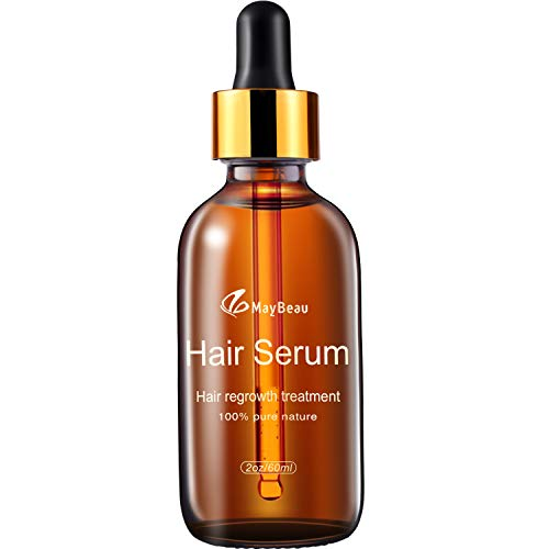 Hair Growth Serum MayBeau Essential Oil Upgrated Hair Growth Treatment With Thinning Hair Loss Hair Loss Treatment for Men and Women