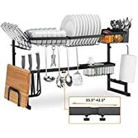 Befano Over The Sink Stainless Steel 2 Tier Dish Drying Rack