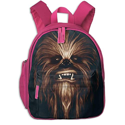 JKSA Chewbacca Backpack Fashion School Bags Cute Backpack for Boys Girls,Pink,One Size