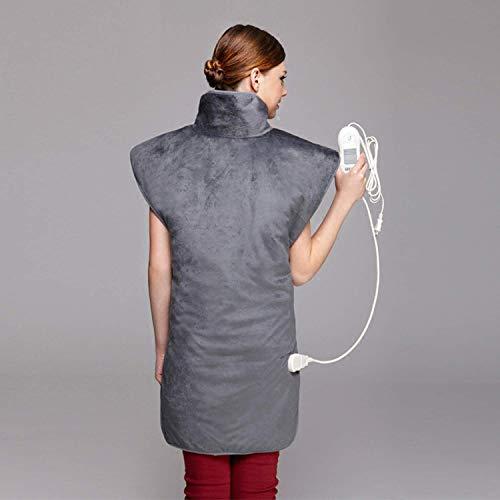 YUXINCAI Heizkissen - Entlasten Sie Rücken Und Schulter Heizdecke Rücken Schulter Automatische Schließung...
