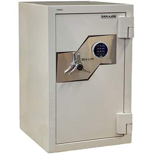 Hollon FB-845E Fire and Burglary Safe with Glass Re-locker