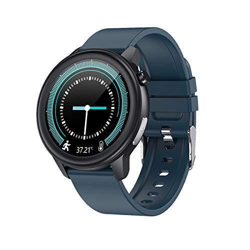 Fitness Armband, LC.IMEEKE Smartwatch Wasserdicht IP68 Fitness Tracker mit Pulsmesser 1,3 Zoll Farbbildschirm Aktivitätstracker Schrittzähler Pulsuhren Fitness Uhr Smart Watch für Damen Herren