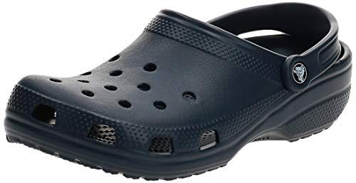 crocs Unisex-Erwachsene Classic Clogs, Blau (Navy), 41/42 EU