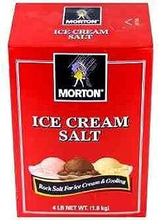 Morton - Ice Cream Salt - 4 lbs. (Pack of 2)