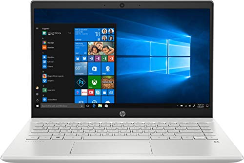 HP Pavilion - 14-ce3007ns - Ordenador portátil de 14' FullHD (Intel Core i5-1035G1, 16GB de RAM, 1TB SSD, NVIDIA MX130-2GB, Windows 10) Plata natural - teclado QWERTY Español