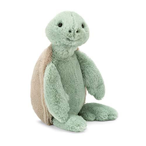 Jellycat Bashful Turtle Stuffed Animal, Medium, 12 inches