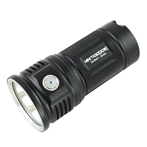 ThruNite MINI TN30 CREE XP-L V6 LED Max 3660 Lumen 4x18650 Akku LED...