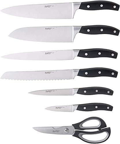 BergHOFF All-In-One 7Pc Forged Cutlery Set, Kitchen Knives & Shears