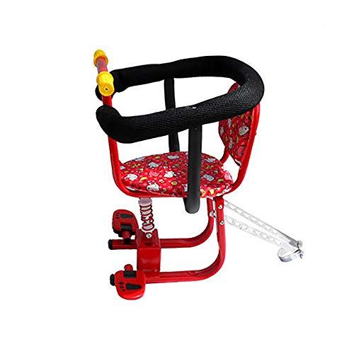 Fahrrad Kindersitz Mini Kindersitzs Armlehne Aus Gummi Wasserdicht rutschfest Vordersitz Mesh Leitplanke Kitty Pedal Abnehmbar Geeignet Für Elektrofahrzeuge (6 Monate -6 Jahre Alt)