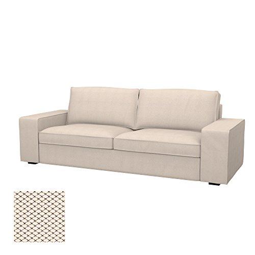 Soferia - IKEA KIVIK Funda sofá 3 plazas