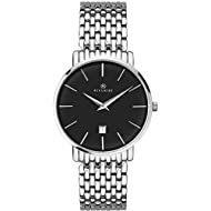 Band Colour Silver Band Width 20 Dial Colour Black Water Resistant Up To 30M 2 Years Manufacturer Guarantee