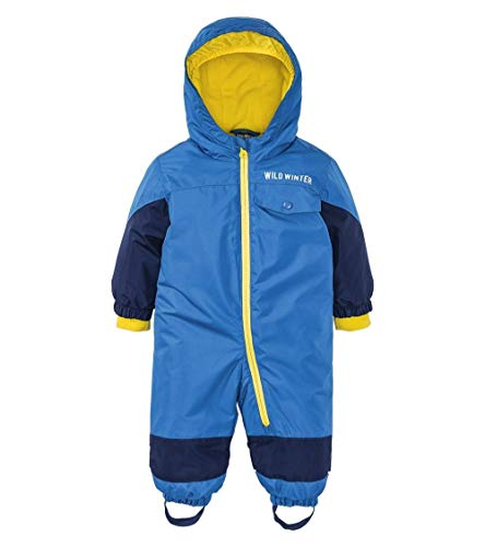 lupilu Kinder Jungen Schneeoverall Winter Overall Blau - Gr. 80