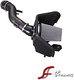 R&L Racing AF Dynamic Black Cold Air Filter Intake Systems with Heat Shield 2011-2014 for Ford Mustang 3.7L V6