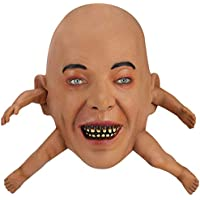 Hautton Men's Creepy Scary Horrific Halloween Mask