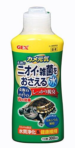 ジェックス カメ元気ニオイ・雑菌をおさえる水 300cc