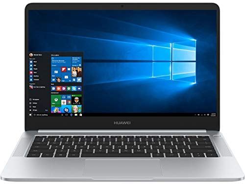 Huawei MateBook D 14' FHD IPS Touchscreen, Quad-Core AMD Ryzen 5 2500U 2.00 GHz, 8GB DDR4 RAM, 256GB NVMe SSD, AMD Radeon RX Vega 8, AC WiFi, BT 4.1, USB C, HDMI, Windows 10 Pro Gaming Laptop