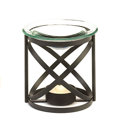 Koehler 15147 3.625 Inch Black Orbital Oil Warmer