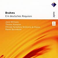 Ein Deutsches Requiem by BARENBOIM / CSO / WILLIAMS / HAMPSON (2011-03-29)