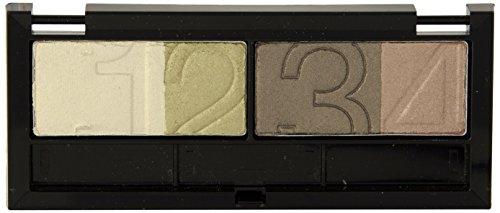 Maybelline New York Lidschatten Eyestudio Quattro Palette Glamour Greens 04 / Eyeshadow Set in Grün Tönen (inkl. Präzisions-Applikator) 1 x 5 g