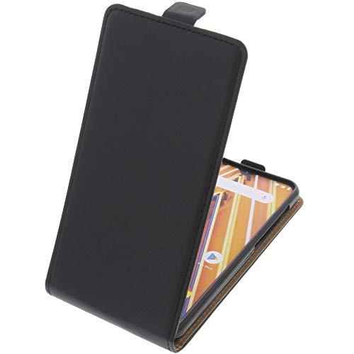 foto-kontor Tasche für Archos Oxygen 63 Smartphone Flipstyle Schutz Hülle schwarz