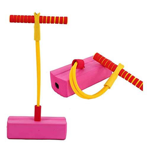 Saltador Pogo Stick New Bounce Foam Poam Stick para niños - Jersey Pogo de espuma para niños de 3 a 5 100% seguro, juguete hinchable para niños pequeños |Divertida tolva de espuma para niños | Squeaso