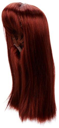 Love Hair Extensions - LHE/W/S/GGAGA/34 - Perruque Style Gaga - Couleur 34 - Cuivre Chaud - 46 cm