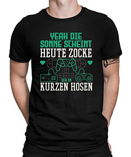 Gaming Videogame Zocken Gamer Nerd Geek CPU GPU Camiseta para hombre Gaming 04 Man L