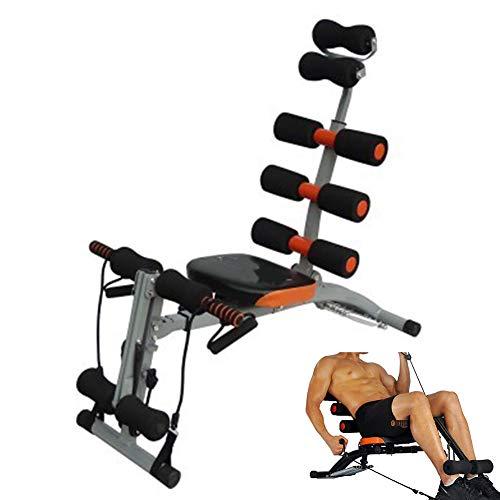 Cacoffay Bauch Trainer Bauch, AB, Zurück, Übung Stuhl mit Schaum Walze Griffe Niveau Einstellbar Fitness Knirscht Maschine Trainieren Ausbildung Bank