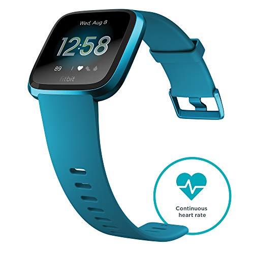 Fitbit Versa Smart Watch, One Size (S &...