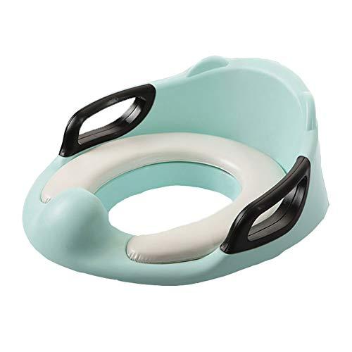 Vorstehender Spritzwassergeschützter Urin Vor Dem Toilettensitz Doppel rutschfest Für Das Toilettentraining Für Kinder, Grün