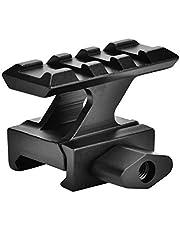 OKBY Montaje Vertical - Altos rieles Altos Montaje Montaje del Alcance Montaje, Adaptador de Base de riel Picatinny de 20 mm, Negro