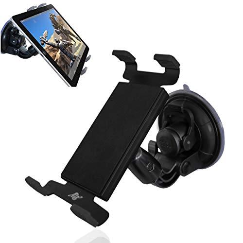 Smart-Planet® Tablet Halterung - Autohalterung für die Scheibe - KFZ Halter -Tablet PC vibrationsfrei - Navi Handy 15 bis 20,5 cm Breite oder Höhe