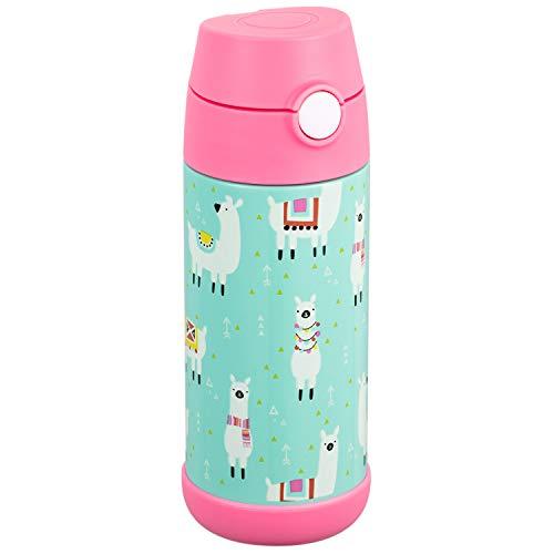 Snug, Borraccia Thermos per Bambini, Bottiglia Termica con Cannuccia
